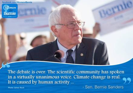Bernie-ClimateChange
